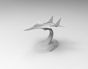 mig 29 3D print model