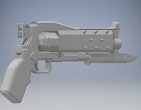 3D print model Crimson Hand Cannon Destiny 2