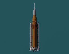 NASA ROCKET 3D print model