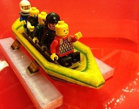 3D print model CGR Pontoon boat full size