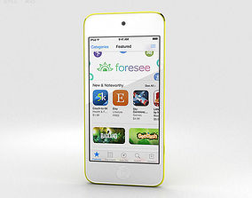 Apple iPod Touch Yellow 3D