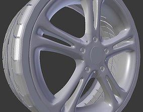 part 3D model Car wheel