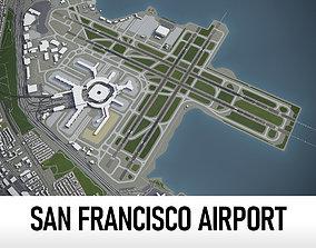 San Francisco International Airport - SFO 3D model