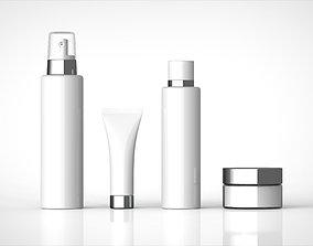 cosmetics set 3D