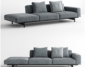 3D model Lema Yard Sofa Unit 12