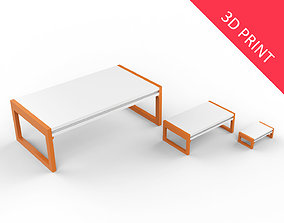 3D print model Center Table with 3 Different Sizes