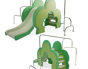 3D Play area Toboggan equipment