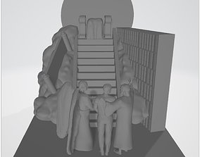 Last Judgement of God 3D printable model
