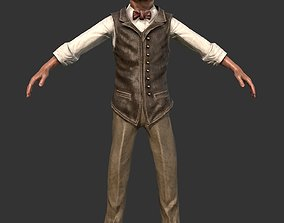 3D asset Man Adult Character 1920 Realistic Male
