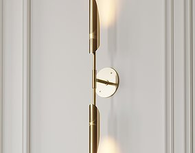 3D model VOYAGER 11 DUAL Wall SCONCE by Allied Maker