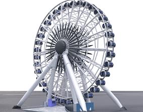 Ferris Wheel 3D model theme