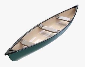 Canoe 01 3D