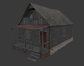 3D model Old Village House 5