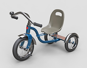 3D model Childrens tricycle