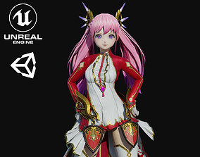 3D asset Rimoo Girl