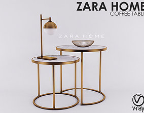 Zara Home - ABLE MARBLE GOLD NEST 3D