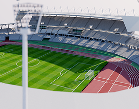Stade Sebastien Charlety - Paris 3D