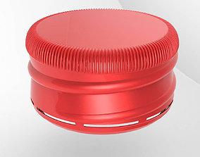 Bottle screw cap first-model-march 3D