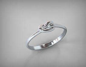 3D printable model Rings Knot STL