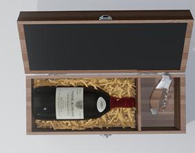 wine box 3D asset