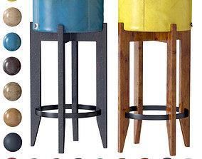 3D model Bar stool Leonardo