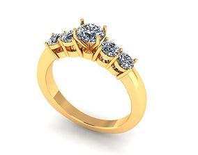 Wedding Ring R013 3D print model