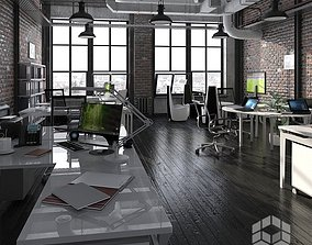 archive Loft Office 3 3D