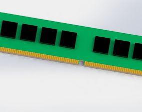 3D model ram memory