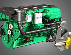 3D model Penta Engine D6-330