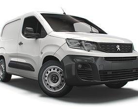 Peugeot Partner Professional Standard UK-spec 2020 3D