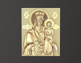 catholic Russian icon 3D print model