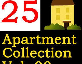 Apartment Collection Vol 08 3D model