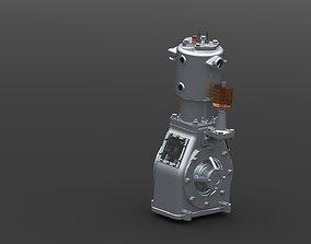 3D model Compressor Engine