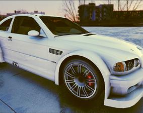 3D model BMW M3 2019