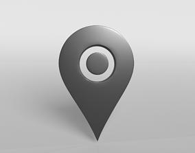 Map Tag v2 001 3D asset