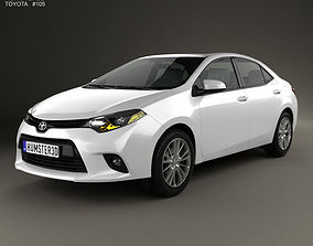 Toyota Corolla LE Eco US 2013 3D model