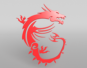 3D model MSI Dragon 03