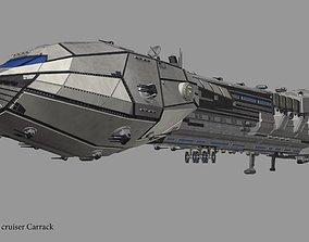 3D model Carrack cruiser