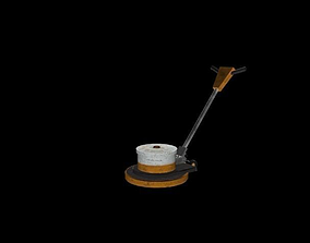 3D model Low-poly Floor Buffer