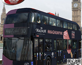 Wrightbus Routemaster Magnum ice livery 3D asset