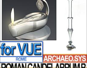 Ancient Roman Candelabrum B 3D