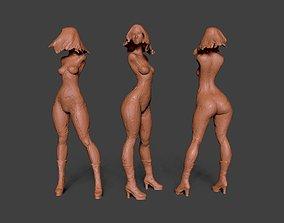 Clay Girl 6 3D print model