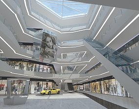 3D business center interior