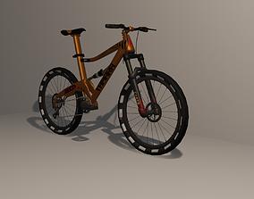 3D asset Mountain Bike 5