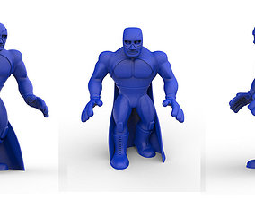 Mexican Wrestler Blue Demon 3D printable model
