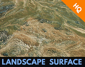 Landscape Terrain Surface Environment PBR 3D model