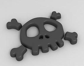Skull Symbol 3D model