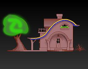 3D printable model fairy house