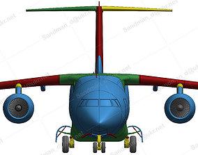 3D print model 152212 Antonov AN-178 Down