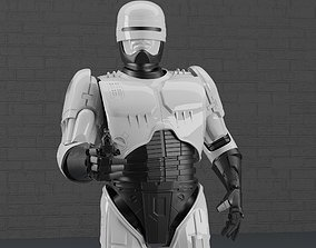 ROBOCOP STATUE FOR 3D PRINTING